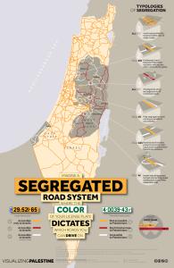 Cartina Israele Palestina