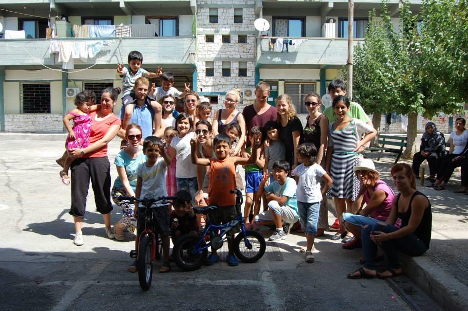 Volontariato in Grecia