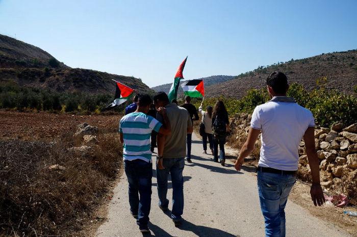 Al Ma'sara e Wadi Fukin - manifestazione