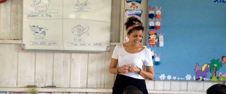 Supportare le comunità locali attraverso la sostenibilità ambientale e l'educazione informale: un campo in Thailandia