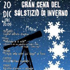 La Città dell'Utopia presenta la Gran Cena del solstizio d'inverno