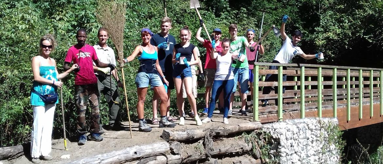 Calcata Art&Green: la storia insolita di un campo di volontariato