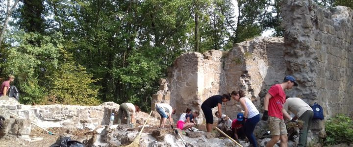 Calcata Art&Green, campo di volontariato: vi racconto una storia insolita
