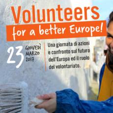 Il volontariato per trasformare l'Europa: anche SCI-Italia aderisce all'appello verso il 25 marzo