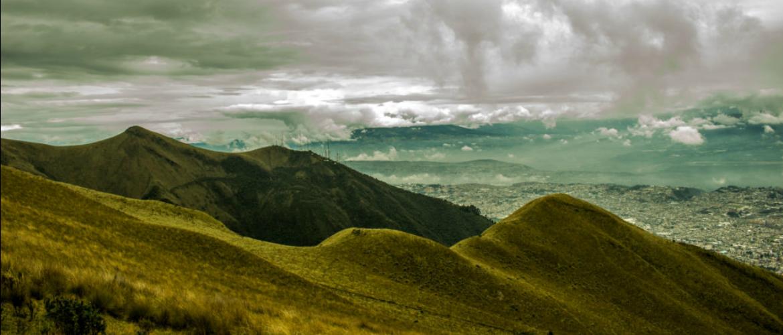 Tutela di un ecosistema a rischio: campo in Ecuador