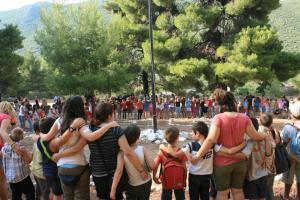 Promuovere il sostegno educativo e sociale dei bambini: campo in Grecia