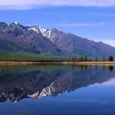 Sulla rotta Transiberiana per Baikal: un campo in Russia