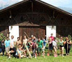 Una casa interculturale per promuovere l'integrazione: campo a Waldhüttl, Tirolo