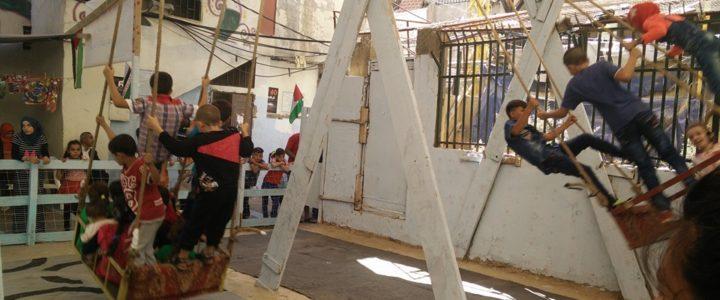 Organizzare un campo estivo per i/le ragazzi/e di Shatila: campo in Libano
