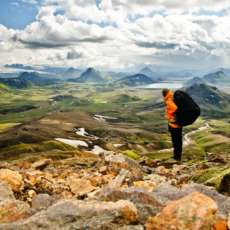 Esprimere l'internazionalità attraverso la fotografia: un campo in Islanda