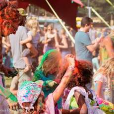 Gitannekesfoor, un festival di cultura gitana: campo nel Belgio fiammingo