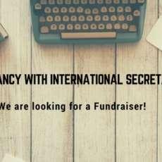 SCI International Secretariat è in carca di un/a fundraiser!
