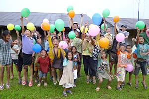Promuovere attività ludiche con i bambini terremotati del Giappone