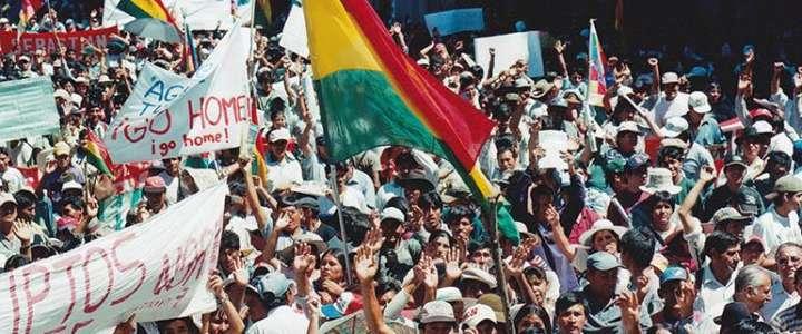 Non perdere la memoria della Guerra dell'Acqua: un campo in Bolivia