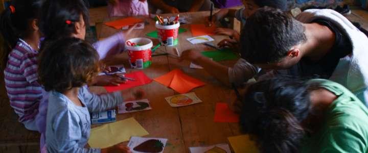 Imaginatorium: un campo in Kosovo per i bambini di Mahalla