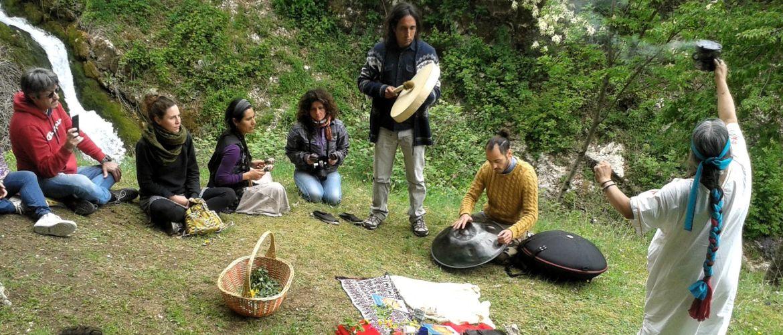 Migrazioni e meditazione: un campo in Molise per l'inclusione sociale