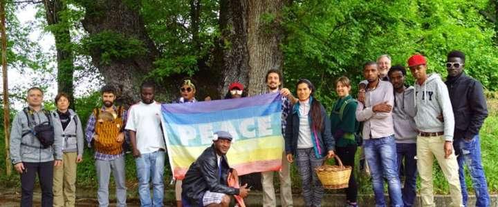 Un campo a Cantalupo nel Sannio, dove si promuove il dialogo interreligioso e l'inclusione sociale