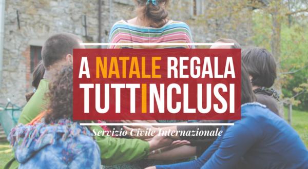 A Natale regala TuttInclusi, sostieni l'inclusione sociale