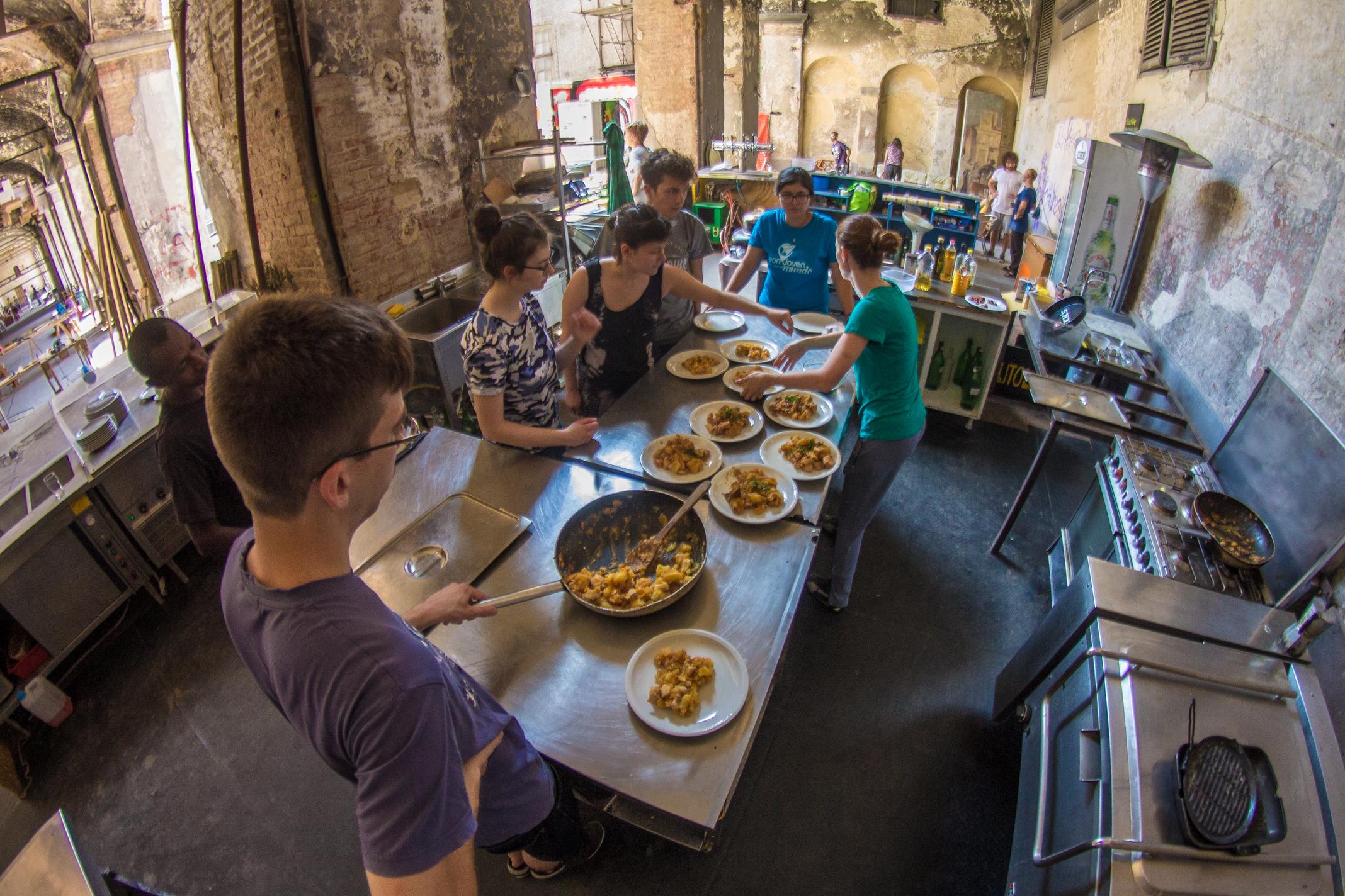 cibo nonviolenza servizio civile internazionale