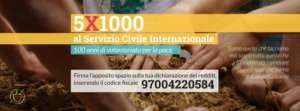 5X1000 al servizio civile internazionale