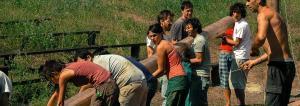 Un campo presso il villaggio ecologico di Granara: ecologia, inclusione sociale, nonviolenza