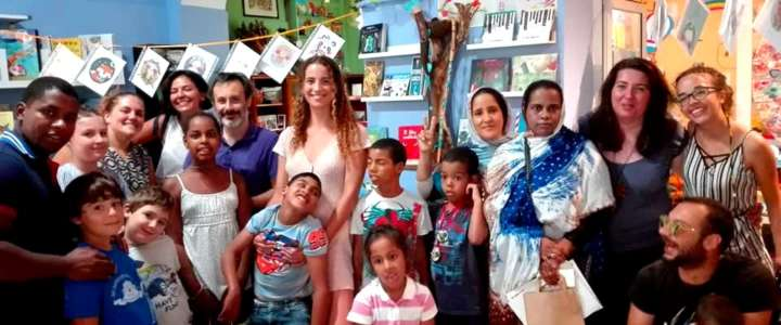 Un campo in Italia per supportare i bambini dell'associazione Shanti Sahara