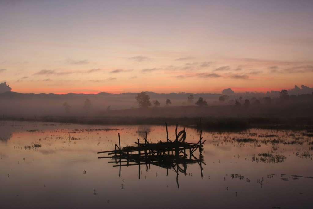 "Un campo nel monastero ""Phaya taung youth development centre"": direzione Myanmar"