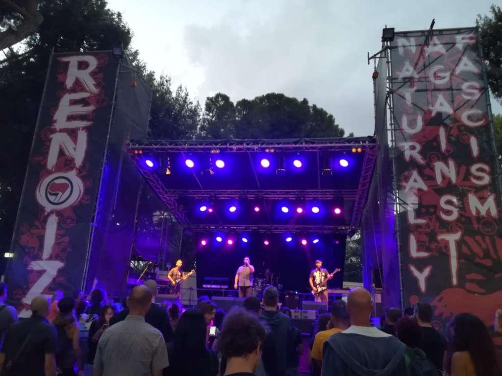 Renoize 2019, festival Antifascista: un campo di volontariato a Roma