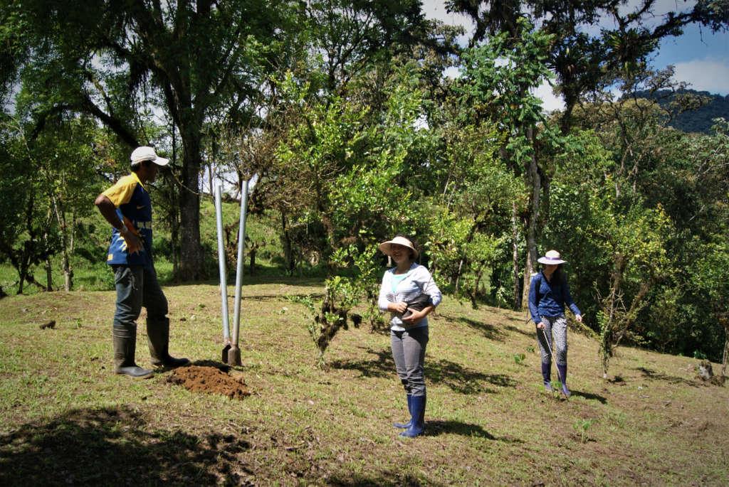 Un campo di volontariato in una riserva naturale dell'Ecuador
