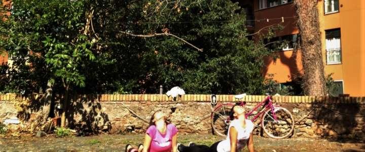Yoga come stile di vita: un campo a La Città dell'Utopia, Roma