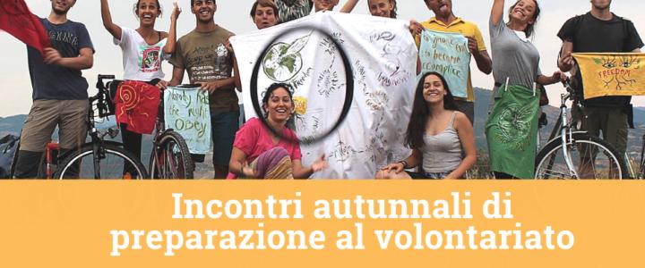 Ultimi incontri di preparazione al volontariato internazionale [Autunno 2019]!