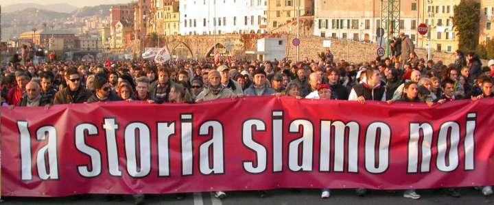 G8 di Genova – Supplemento al Centofiori dell'Agosto 2001 di SCI-Italia