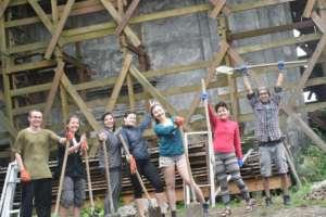 """Un weekend di volontariato presso il centro """"Baraonde"""" a Voghera"""