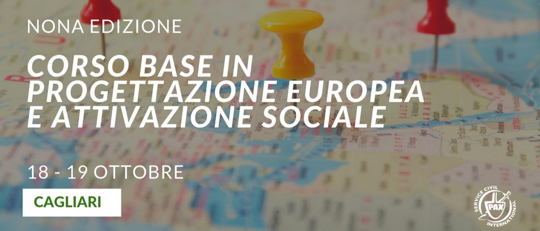 """Corso base in """"Progettazione Europea e Attivazione Sociale"""" (Cagliari)"""