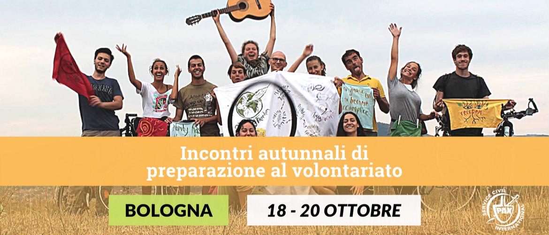Ultimi incontri di preparazione al volontariato internazionale (Bologna)