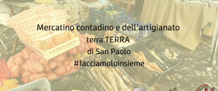 Mercato Contadino Terra/TERRA di San Paolo #Facciamoloinsieme