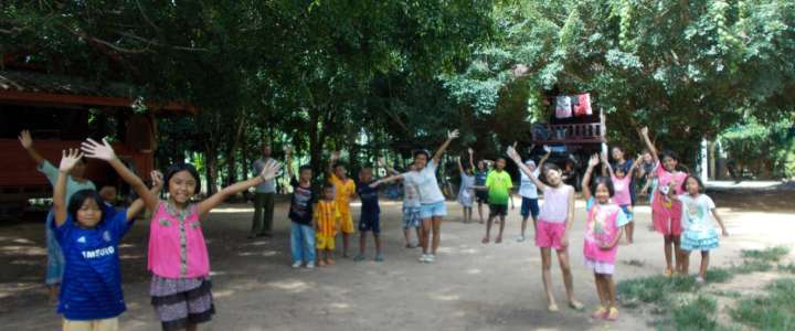 Workcamp in Thailandia fra bimbi ed inclusione sociale