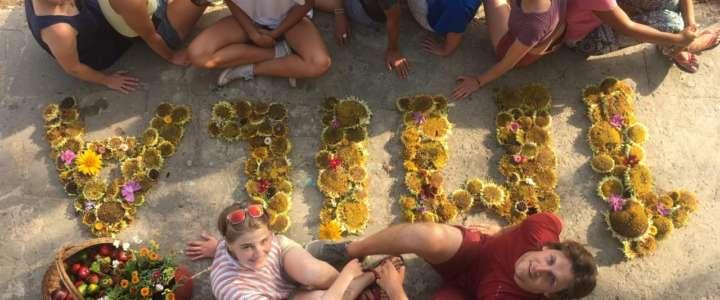 Campo sullo stile di vita sostenibile a Bracciano
