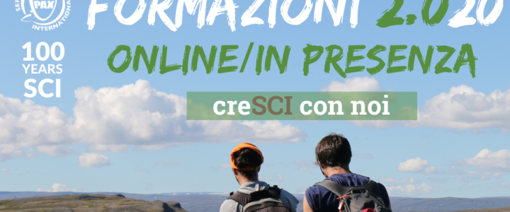 Formazioni 2.0(20) Online/In presenza – creSCI con noi!