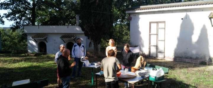 """Testimonianze sul workcamp """"Stile di vita sostenibile a Bracciano"""""""