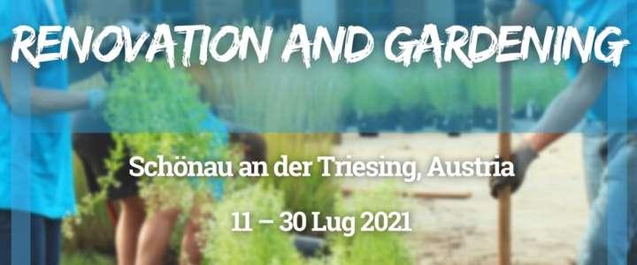 Workcamp in Austria: Ristrutturazione e giardinaggio