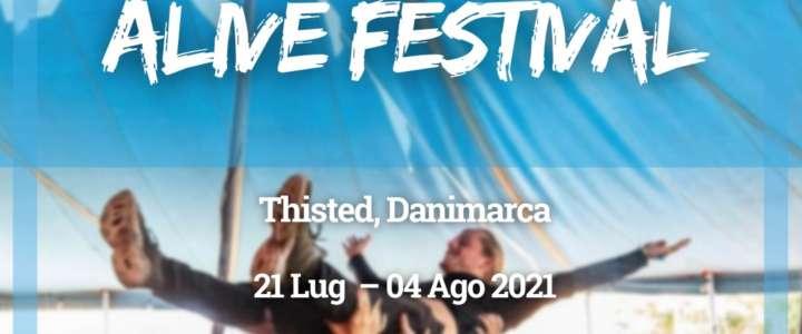 Workcamp in Danimarca: Alive Festival