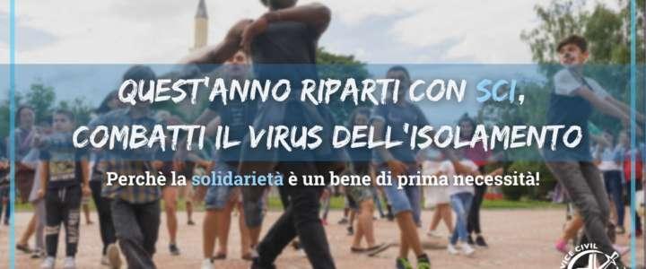 Quest'anno Riparti con SCI, combatti il virus dell'isolamento