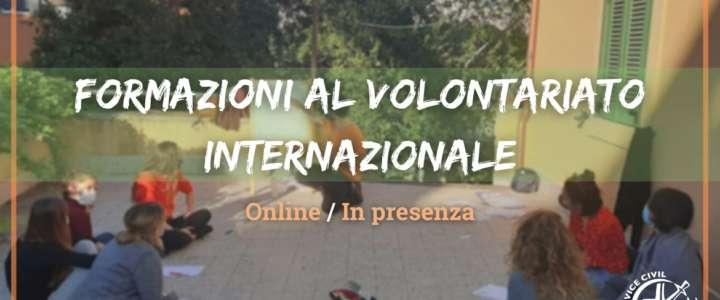 Formazioni al volontariato internazionale – Online/In presenza