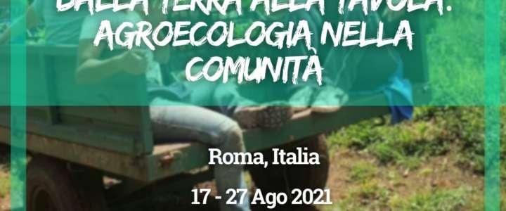 Workcamp in Italia: Dalla terra alla tavola: agroecologia nella comunità