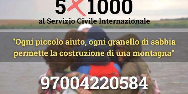 Che sosterrai con il tuo 5×1000 a SCI Italia?