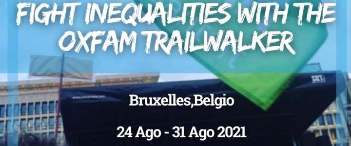 Workcamp in Belgio: Fight inequalities with the Oxfam Trailwalker