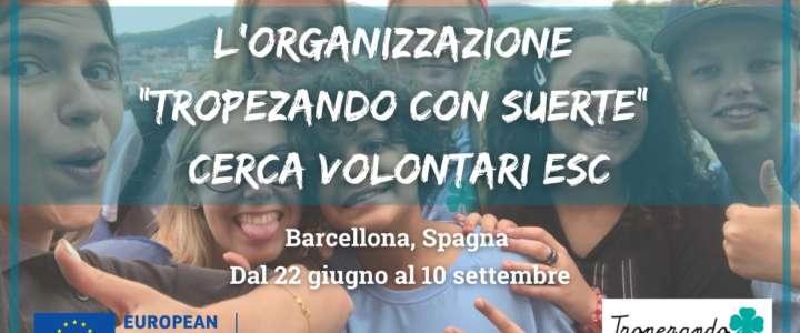 """Call per partecipanti: L'organizzazione """"Tropezando con Suerte"""" cerca volontari ESC"""
