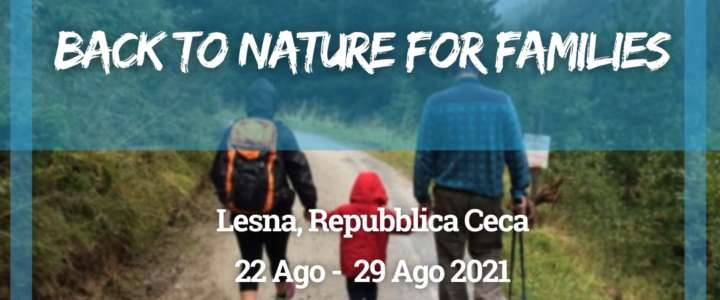 Workcamp in Repubblica Ceca: Back to Nature for Families