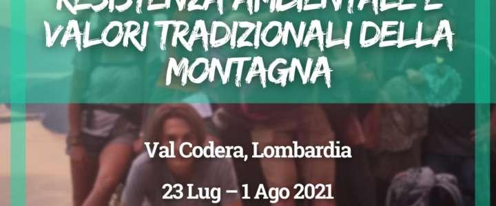 Workcamp in Italia: Resistenza ambientale e valori tradizionali della montagna (Lombardia)